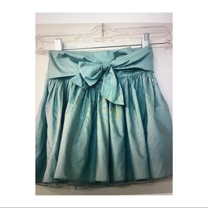 Gorgeous Crewcuts silk skirt